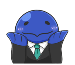 Whale family sticker #13218370