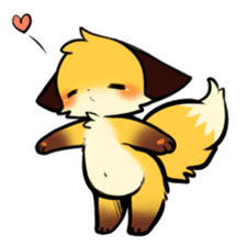 SANUKI FOX 2 sticker #13218622