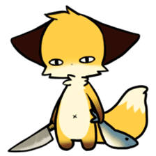 SANUKI FOX 2 sticker #13218632