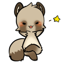 SANUKI FOX 2 sticker #13218636