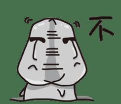 MOAI FATTY BABY sticker #13219632