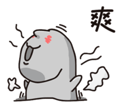 MOAI FATTY BABY sticker #13219639