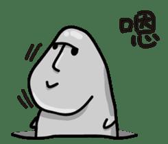 MOAI FATTY BABY sticker #13219640
