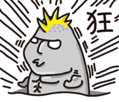 MOAI FATTY BABY sticker #13219644