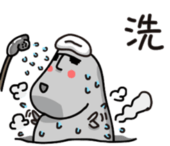 MOAI FATTY BABY sticker #13219647
