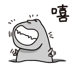 MOAI FATTY BABY sticker #13219650
