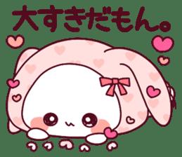"""Fluffy Bear """"I love"""" in Japanese 40set sticker #13221585"""