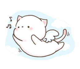 Lion and Kitty, adorable couple. sticker #13227802