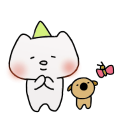 Uni & Mayo happy sticker! 2