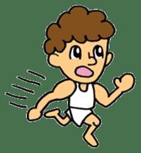 gymnastics message of Ma-kun sticker #13233851