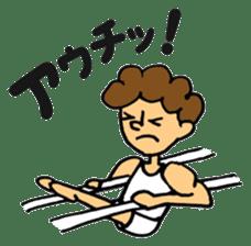 gymnastics message of Ma-kun sticker #13233864