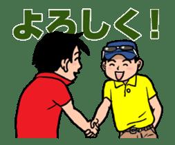 LOVE GOLF! animation sticker #13234464