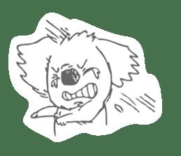 Koala feels sorry sticker #13234894
