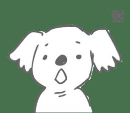Koala feels sorry sticker #13234902