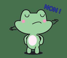 French frog sticker #13236276