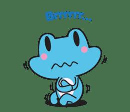 French frog sticker #13236295