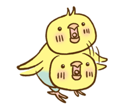 Budgies Fickle 8 sticker #13252460