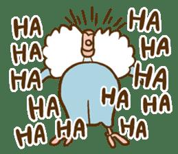Budgies Fickle 8 sticker #13252481