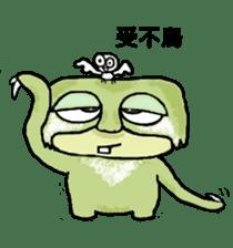 bad sloth sticker #13257146
