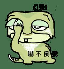 bad sloth sticker #13257150