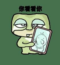 bad sloth sticker #13257152