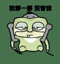 bad sloth sticker #13257158