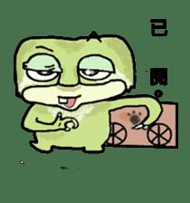 bad sloth sticker #13257174