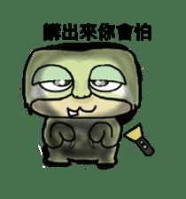 bad sloth sticker #13257179