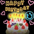 動く!誕生日&ありがとう バラエティパック | LINE STORE