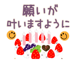 Happy Birthday&Thank you(new year) sticker #13258367