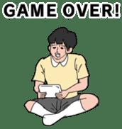 Hidden my game by mom sticker #13260881