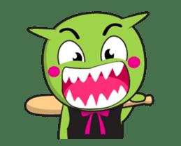 Zelen Animated sticker #13269135