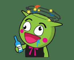 Zelen Animated sticker #13269137