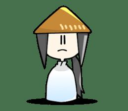 Vietnamese girl and Japanese girl 2. sticker #13269568