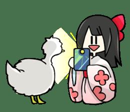 Vietnamese girl and Japanese girl 2. sticker #13269592