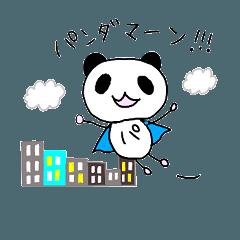 Pandaman sticker !!!