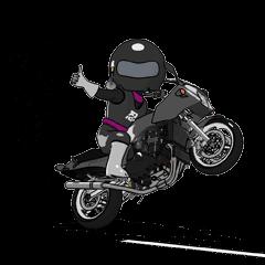 Rider ninja black animation