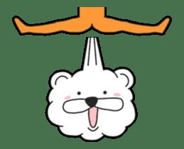 Kuma & Puu chan in the world sticker #13290063