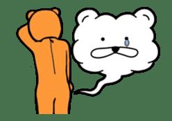 Kuma & Puu chan in the world sticker #13290079