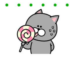 Louie cat. sticker #13293447