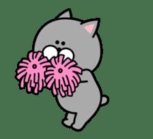 Louie cat. sticker #13293449