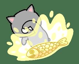 Louie cat. sticker #13293453