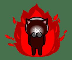 Louie cat. sticker #13293454