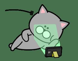 Louie cat. sticker #13293461