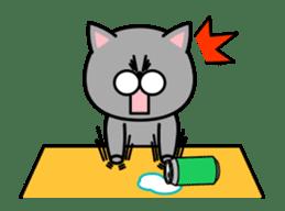 Louie cat. sticker #13293465