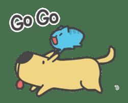 BugCat-Capoo & DogDog sticker #13294577