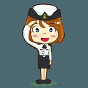 สติ๊กเกอร์ไลน์ พยาบาลทหารเรือ