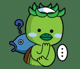 Kappa chan !! sticker #13304431