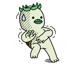 Kappa chan !! sticker #13304455