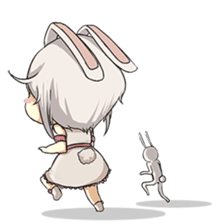 Little Bunny Girl sticker #13304833